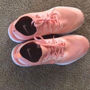 b334ff72bdb4 Nike Shoes - Nike Epic React Pink Salmon color EUC
